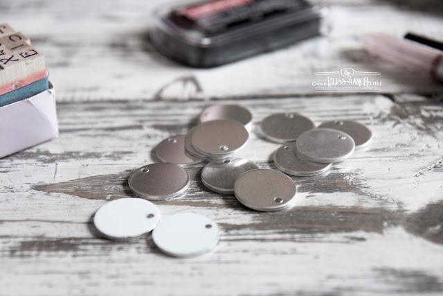 Metal Tags That Look Like Mini Enamel Signs Bliss-Ranch.com