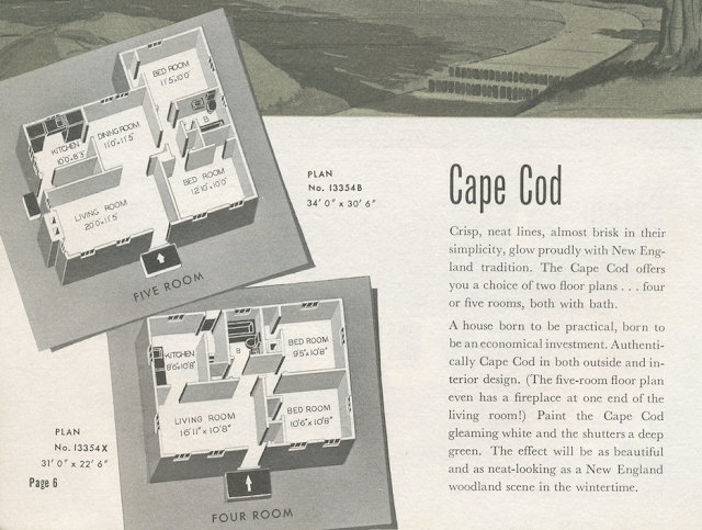 sears cape cod model catalog