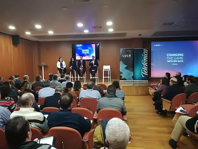 Figura 2: Imagen del auditorio de #CTGValencia durante la parte Q&A.
