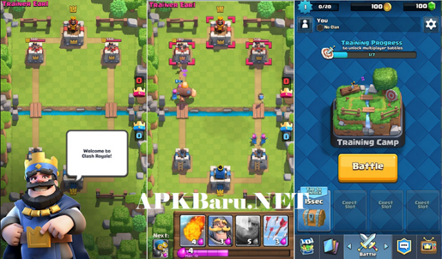 Clash Royale v1.1.2 Apk Update Terbaru 2016 | Android free Download