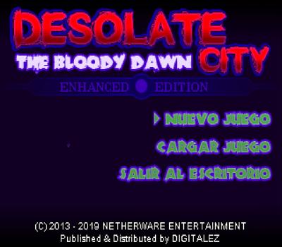 Desolate City - The Bloody Dawn (Enhanced Edition) - Título RPG