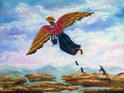 crossing borders διασχίζοντας τα σύνορα Paula Nicho Cúmez 2013 is a Mayan-Guatemalan artist