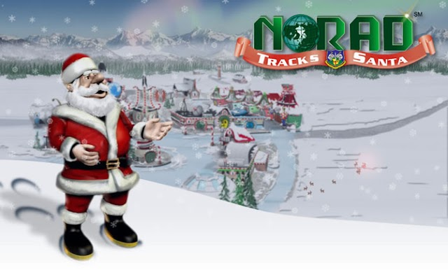 How to track Santa during the most crowded night of the year