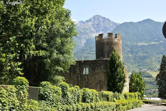 Torre di Bramafam divenuta castello