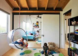 Desain Kamar Tidur Anak Yang Unik