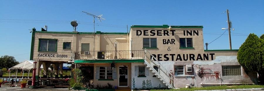 Desert Inn  en Yeehaw Junction, al comienzo del recorrido