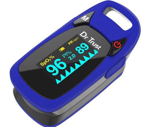 Dr Trust (USA) Finger Tip Pulse Oximeter