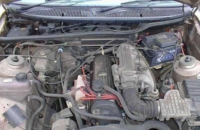 Двигатель OHC с электронным впрыском топлива (EFi)