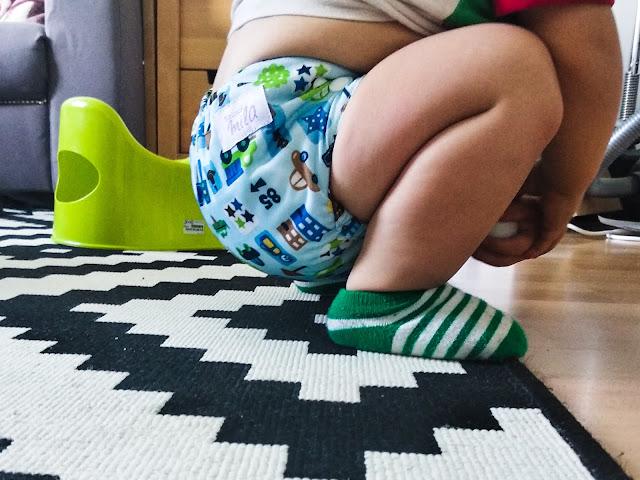 Jak odpieluchować dziecko, czy warto kupić pieluchy wielorazowe