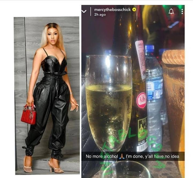 I quit Drinking Alcohol- Mercy Eke reveals as she quits drinking alcohol