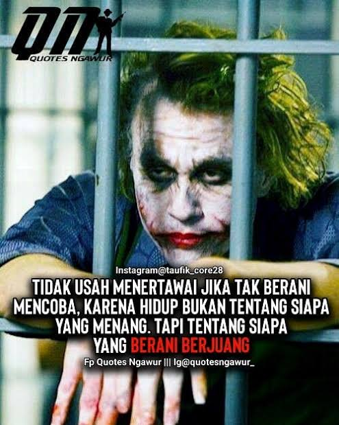 Kumpulan Kata Bijak Joker Infosianaasia