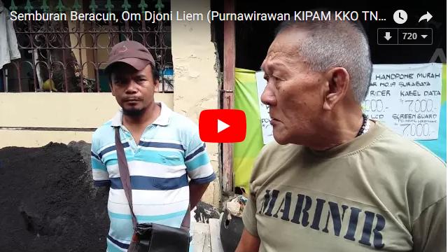 Unik! VIDEO: Semburan Maut Mulut Djoni Liem, Mantan Marinir Indonesia Bisa Lumpuhkan Musuh Pakai Jarum
