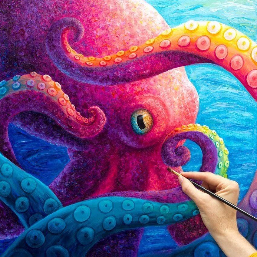07-Octopus-Rachel-Froud-www-designstack-co