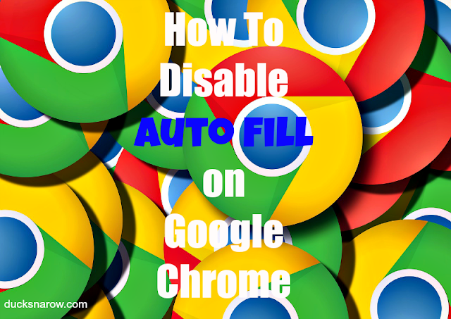 how to change auto fill in chrome
