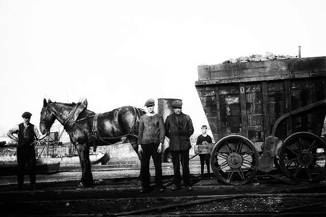 Whitehaven Horse Drawn Coal Waggon