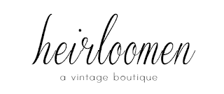 Authentic true vintage dresses and clothing