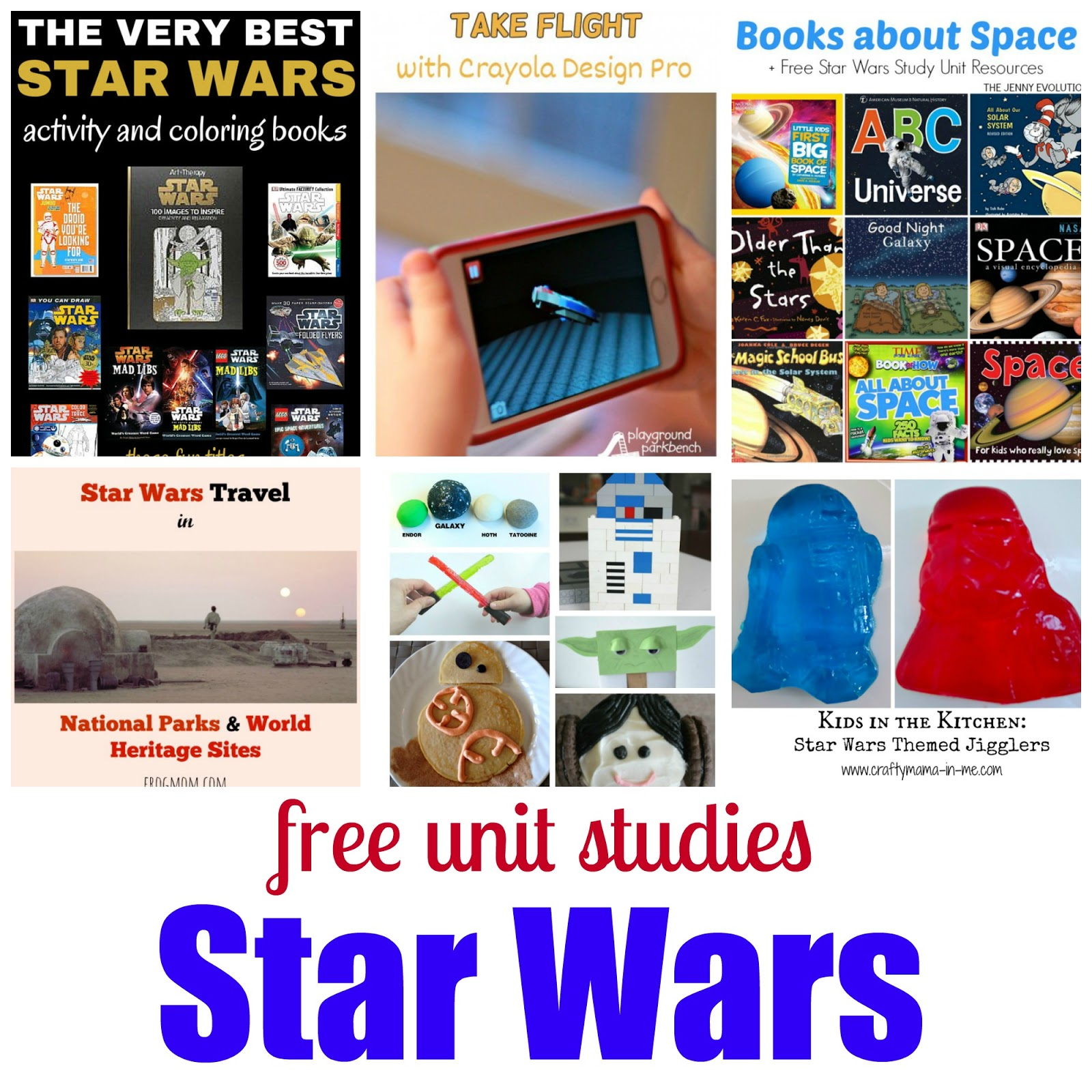 Tales Of Education At Home Star Wars Unit Study Roundup