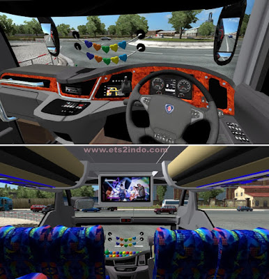 Interior SR2 NRS Edit K410 New Beta ETS2 1.36