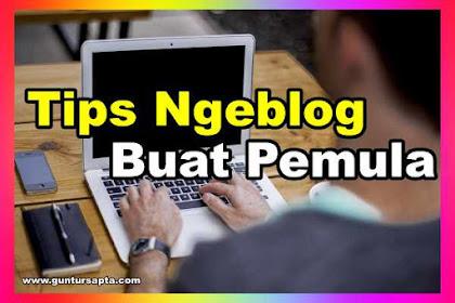 Tips Penting Pada Saat Blogging Untuk Pemula