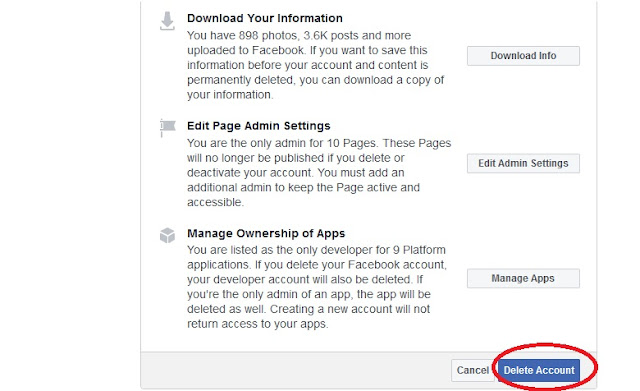 How To Permanently Delete Your Facebook Account in 3 Clicks