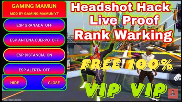 NEW HACK FREE FIRE MAX GÓI MỞ RỘNG FREE FIRE MAX V2.2 AUTO RANK HEDHSOT 100%