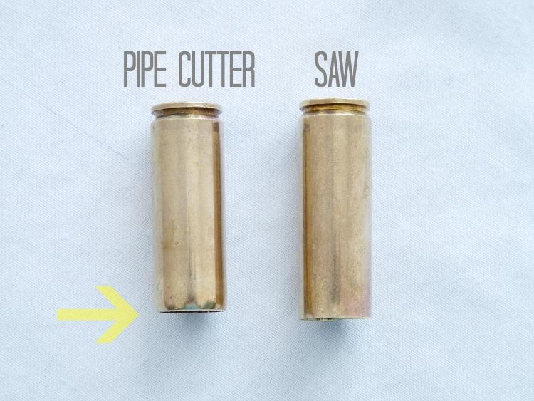 Saw vs pipe cutter