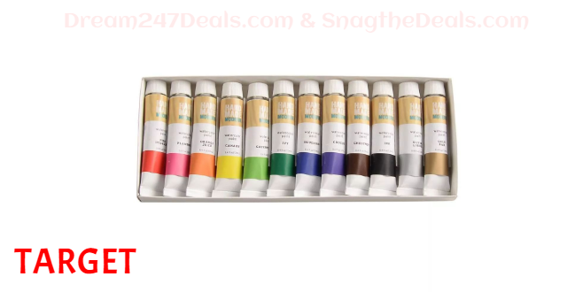 TARGET 12ct Watercolor Paint Set