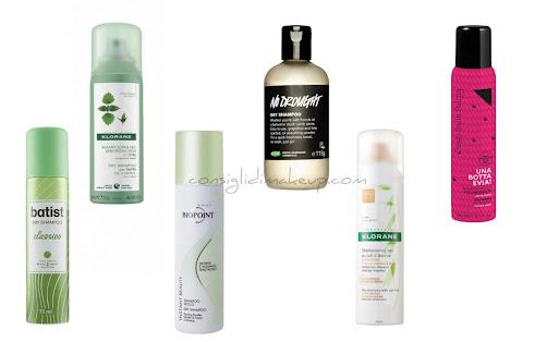 shampoo secco come si usa