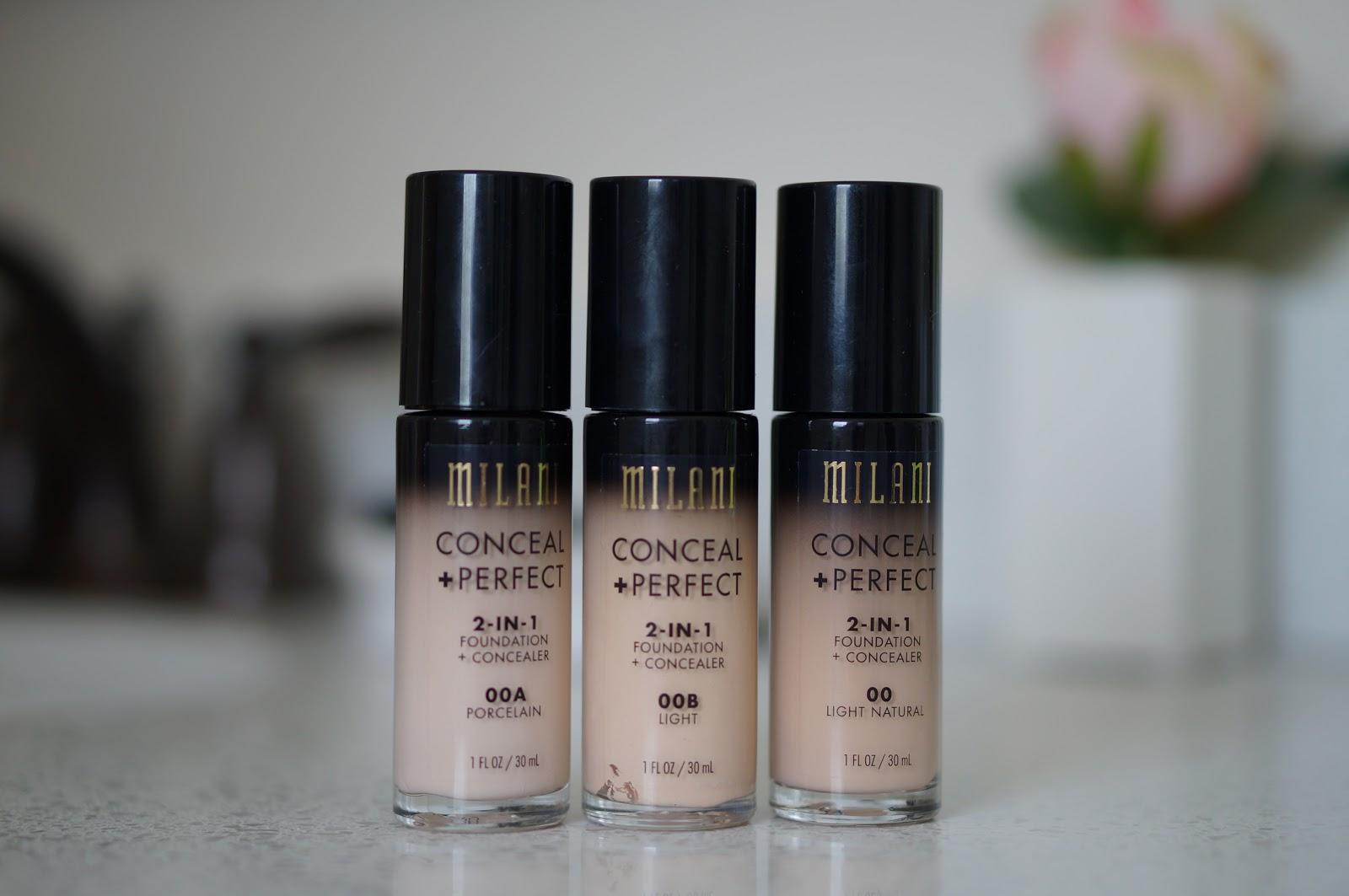 Popular North Carolina style blogger Rebecca Lately shares her review of the palest shades of Milani Conceal Perfect Foundation.  Click here to read her review!