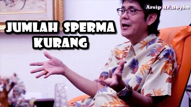 JUMLAH SPERMA KURANG - Konsultasi Sex Dokter Boyke