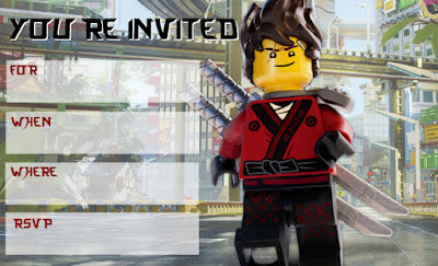 ninjago movie party