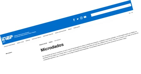 Microdados - INEP