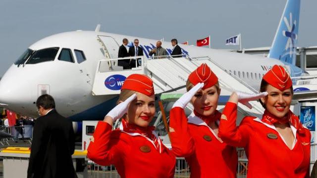 Cabin Crew Members, Aeroflot. Russia