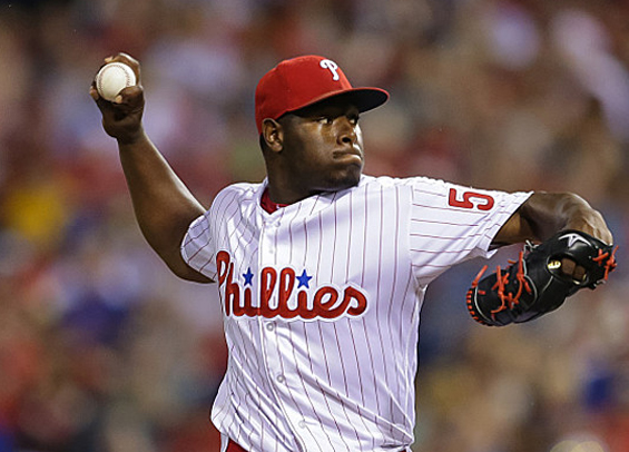 Phillies blow 5 run lead, fall to Braves