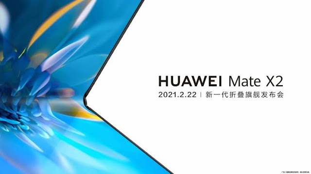Huawei Mate X2 folding smartphone to launch on February 22