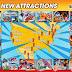 Reportage : En 2019, les parcs Six Flags font le plein de nouveautés !