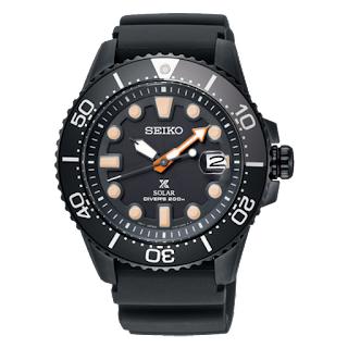 Seiko SNE493P1 Prospex Black Serie Limited Edition 20ATM SNE493