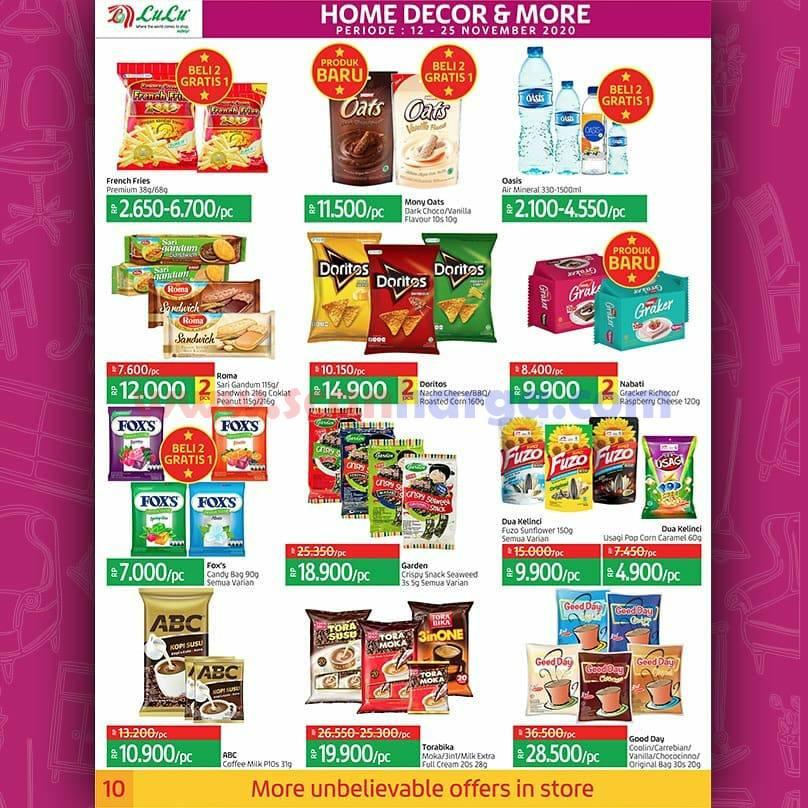 Katalog Promo LULU Supermarket 12 - 25 November 2020 10