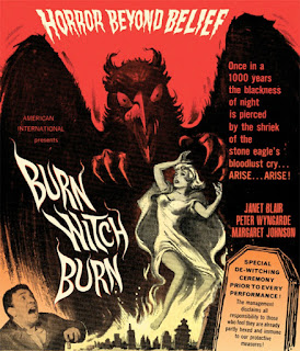 Poster - Burn Witch Burn, aka Night of the Eagle (1962)