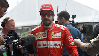 El piloto español le gusta luchar y nunca se da por vencido