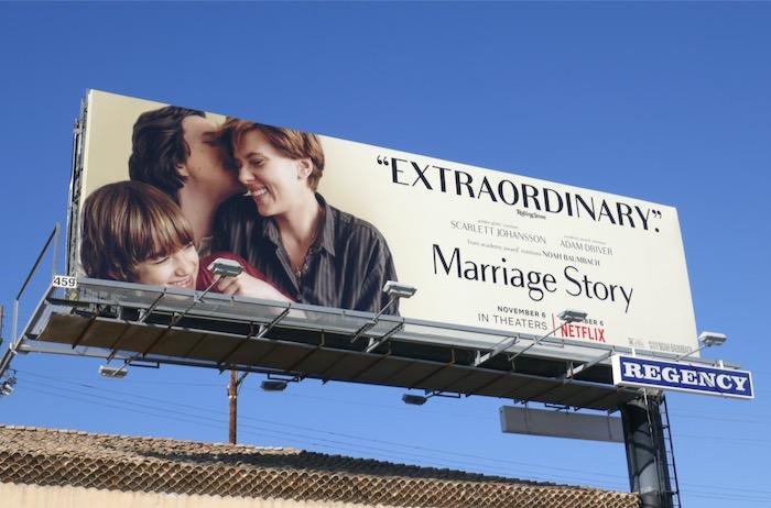 Marriage Story Extraordinary billboard