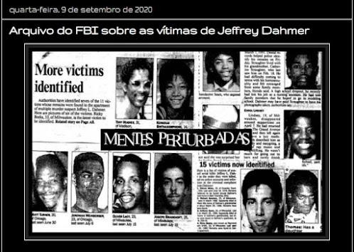 Arquivos sobre Jeffrey Dahmer