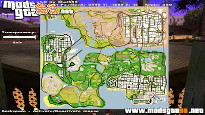Mod Ver Mapa no Jogo