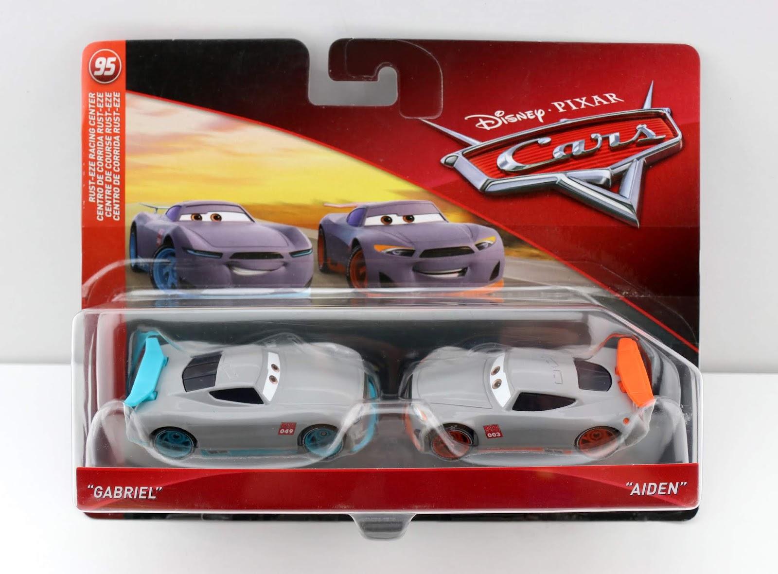 Cars 3 Gabriel & Aiden diecast