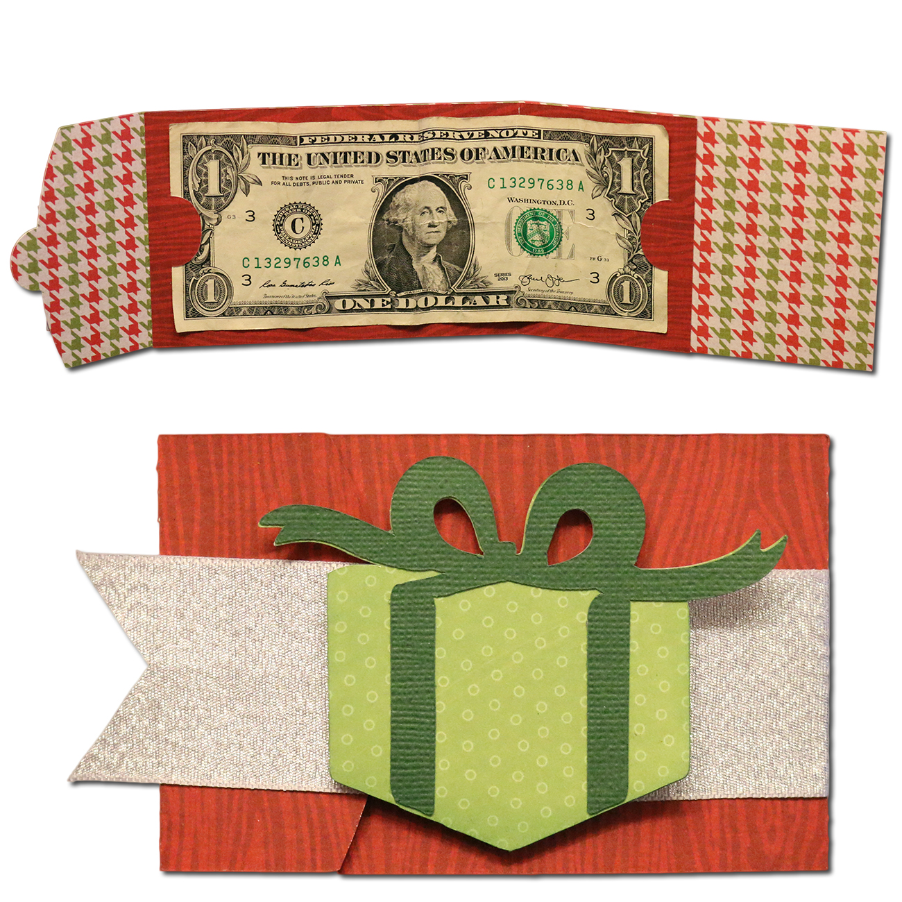 Bits of Paper: Holiday Gift Card and Money Holders!