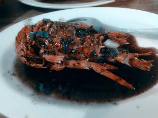 Bandar Djakarta - Lobster Lada Hitam