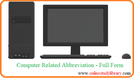 what is computer, Full Form of computer