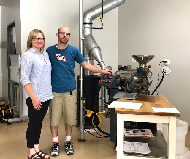 Meeting Lynn and Alex owners of Maple Leaf Coffee Roasters