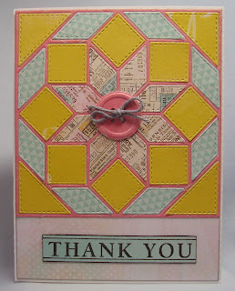 Paper Therapy Ponderings Quilt Thank You Cards
