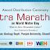 Ultra Marathon on World Water Day